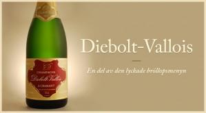 Diebolt-Vallois - en del av den lyckade bröllopsmenyn